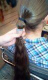Покупка неокрашенных славянских волос